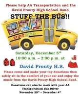 Stuff the Bus Event Planned!