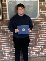 Superintendent recognizes Brendan Halloran as top David Prouty HS Senior!