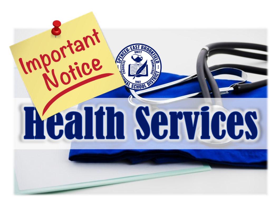 Health Services Important Notice