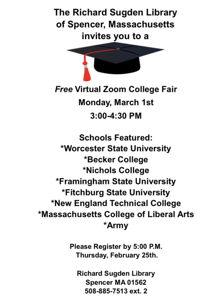 FREE Virtual College Fair 2021