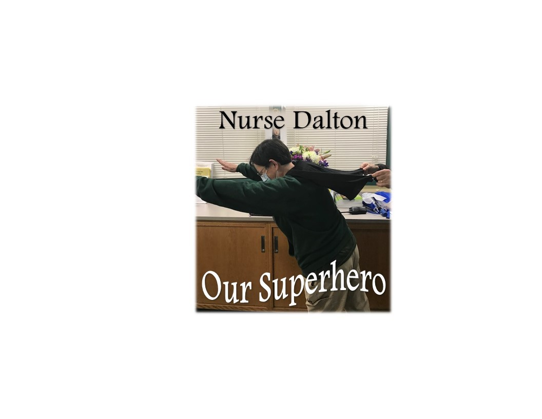 Nurse Dalton Superhero